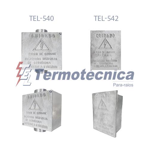 caixas de inspeção em alumínio