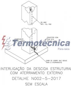 N - Pilar com Rebar - Termotécnica Para-raios