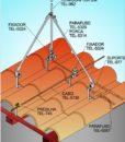 Aplicação em telhado de madeira