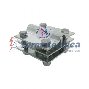 Conector com interface bimetálica