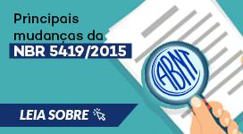 Mudanças da NBR5419/2015