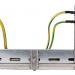 Equipotencialização indireta de partes metálicas da instalação